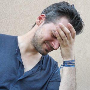 sinus headache sufferer
