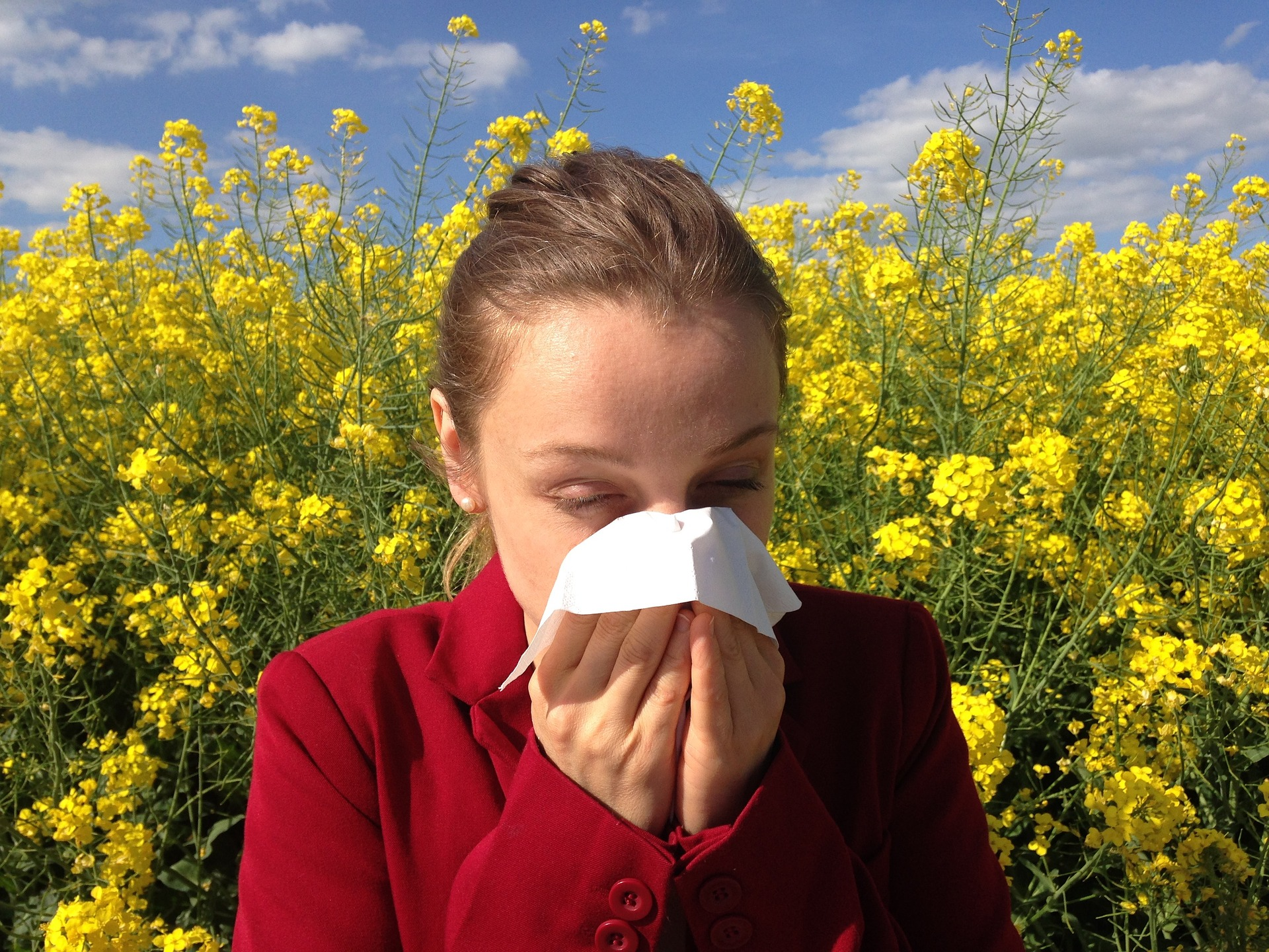 Suffering from Seasonal Allergies